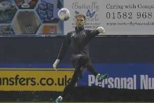 Town keeper Harry Isted