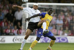 Curtis Davies during his time with the Hatters