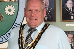 Mayor of Houghton Regis, Cllr Martin Kennedy