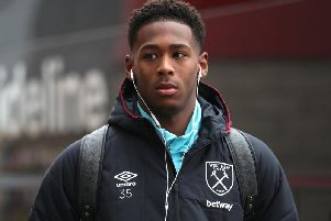 Reece Oxford during his time with West Ham United