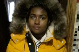 Tia was last seen wearing this mustard coloured coat with a fur hood