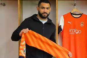 New Hatters defender Cameron Carter-Vickers
