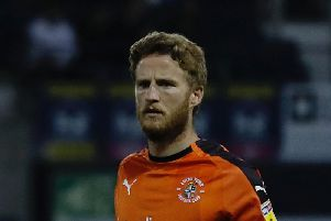 Eunan O'Kane in his last spell with the Hatters