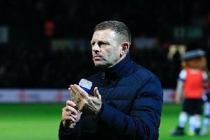 Luton chief Graeme Jones