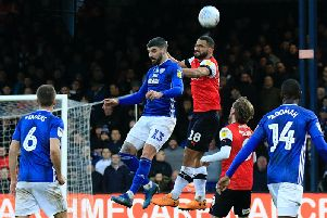 Cameron Carter-Vickers clears the danger against Cardiff