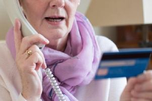 Telephone fraud. Photo from Shutterstock