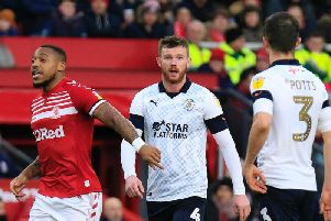 Hatters midfielder Ryan Tunnicliffe scored the winner at Middlesbrough on Saturday