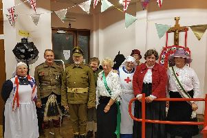 St Peter and Pauls Church in Wymering held a commemorative First World War themed evening. Picture: Dan Vassie