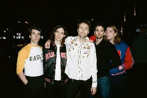 The Vaccines play the Waterside, Aylesbury on January 24, 2019.