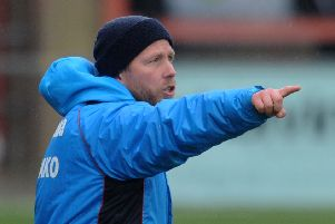 Eastbourne Borough manager Jamie Howell