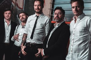 Frank Turner and his band The Sleeping Souls