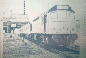 Rugby's 'ghost' Central Station in 1969