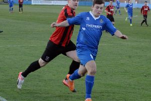Joe Bennett was Selsey's scorer against Bexhill / Picture by Kate Shemilt