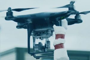 Gangs are delivering drugs into prisons by flying them over the walls with drones.
