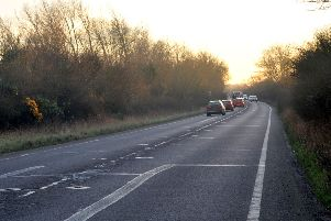 The A259 Marsh Road
