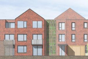 An artist's impression of the proposals for a block of flats in Eastbourne