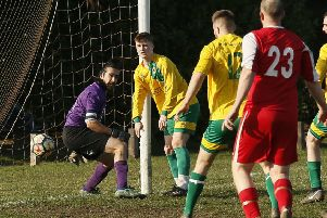Caldecote Reserves v M&DH Clapham. Picture: David Kay