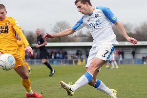 The Hawks failed to fire on Saturday - they played better against Leyton Orient. Picture: Chris Moorhouse