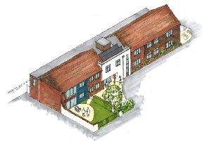 designs for new care home in Horsham