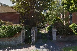 Access point from Silverdale Road to proposed new homes (photo from Google Maps Street View)