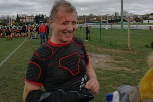 Mr Pawsey after the game.