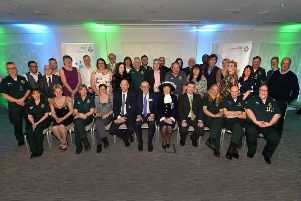 Ambulance staff were commended at a glittering awards ceremony SUS-190321-131637001