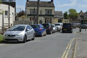 Parking problems in Victoria Road, Polegate (Photo by Jon Rigby) SUS-181105-101254008