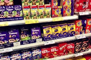 Supermarket aisles are laden with Easter eggs at this time of year