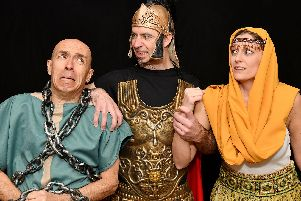 Rugby Theatre stages a comical version of Ben Hur