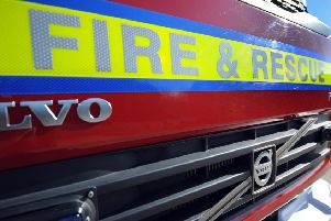 Eastbourne fire crews tackle two cars on fire in early hours