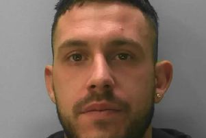 Tre John Bunby, a barber from Peacehaven, is wanted by police