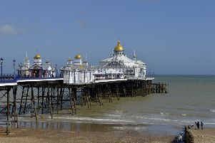 Eastbourne Pier (Photo by Jon Rigby) SUS-190404-161635003