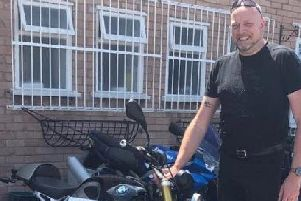 John Thorogood, who died following a collision while riding his motorcycle on the B6047 near Lowesby on March 31