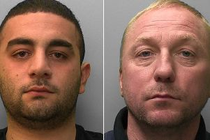 Leo Ellis and Jason Caswell. Picture: Sussex Police