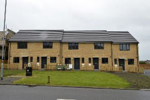 New houses built on corner of Priory Road / Wayside Terrace (Photo by Jon Rigby) SUS-190905-104141008