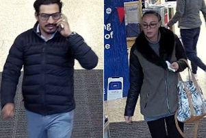 Police want to speak to these two suspects