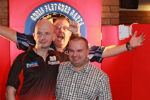 Jamie Caven (left) will return to Skegness