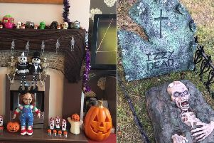 Halloween props were stolen from an Eastbourne garage