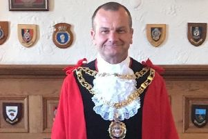 Mayor of Eastbourne Steve Wallis SUS-190522-110504001