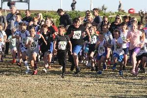 Youngsters take on the junior race