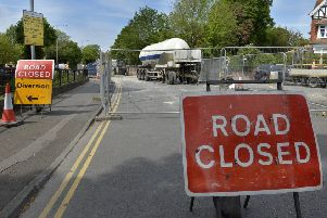 Roadworks in Upper Avenue, Eastbourne (Photo by Jon Rigby) SUS-190523-101350008
