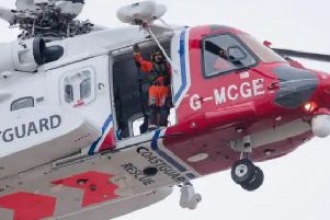 Coastguard helicopter (stock image)