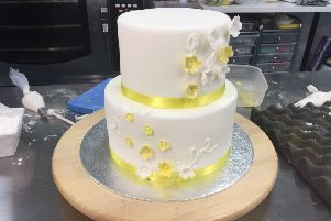 Wedding Cake at Brighton Cakes