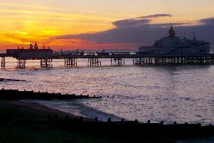 "Abbas Hosseini sent in this stunning shot of Eastbourne pier at sunrise on the morning of May 27. ""Hope you will find it interesting,"" he said. ""Have a nice day."" SUS-190530-092115001"