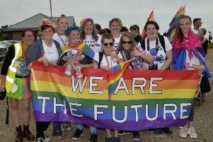 Eastbourne Pride 2018 (Photo by Jon Rigby) SUS-180723-110502008