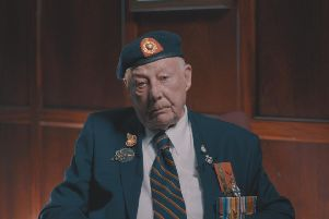 Jack Quinn, a veteran from Mablethorpe.