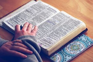 The number of students in the county taking GCSE religious studies has dropped by more than three quarters in just two years.