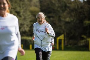 Roz Anderson, 71, says running has been a late addition to her life