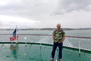 Charlie Dannreuther has completed one bike ride and has two more planned, including swimming around five piers, to raise money for Brain Tumour Research