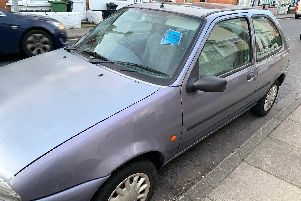 Cars ticketed by Portsmouth City Council in Jessie Road, Southsea, after parking in the new MC residents parking zone in January when the zone was introduced.